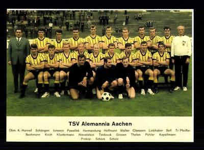 Alemannia Aachen Mannschaftskarte 1968-69
