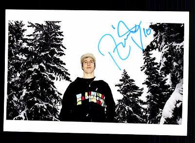Unbekannt Autogrammkarte Original Signiert Snowboard + A 134031