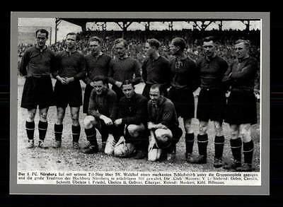 1 FC Nürnberg Mannschaftskarte 1936-37 TOP