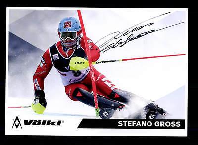 Stefano Gross Autogrammkarte Original Signiert Skialpine + A 158771