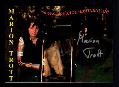 Mario Trott Autogrammkarte Original Signiert Rodeln + A 134098
