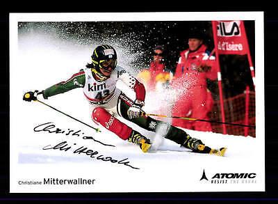 Christian Mitterwallner Autogrammkarte Original Signiert Ski Alpin + A 151724