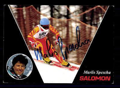 Marlis Spescha Autogrammkarte Original Signiert Ski Alpin + A 151733