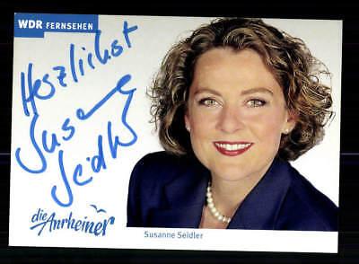 Susanne Seidler Die Anrheiner Autogrammkarte Original Signiert # BC 139818