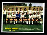 FC Schalke 04 Mannschaftskarte 1975-76