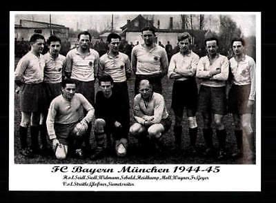 FC Bayern München Mannschaftskarte 1944-45