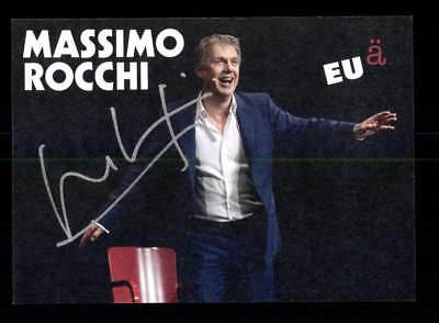 Massimo Rochi Autogrammkarte Original Signiert # BC 134200