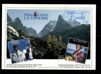 Surya Bonaly Autogrammkarte Original Signiert Eiskunstlauf+A 188111