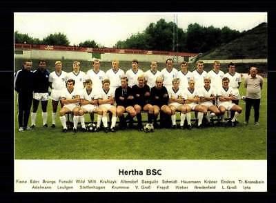 Hertha BSC Berlin Mannschaftskarte  1968-69 TOP