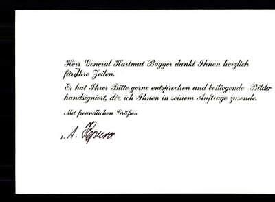 Unbekannt Original Signiert Militär # BC G 18021