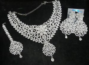 Indian pakistani ladies Bollywood Jewellery necklace choker