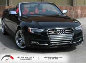 2013 Audi S5 Convertible|Red Interior|Navigation