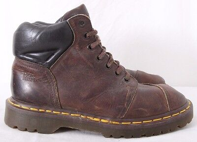 (Dr. Doc Martens 8072 Air Wair 7-Eye Padded Collar Ankle Boots Womens UK 4 (US 6))