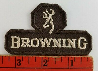 Vintage Browning Guns Rifles Hunting Patch