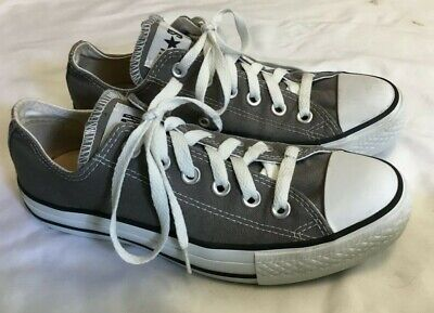 Womens CONVERSE ALL STAR CT Gray Sneakers Size 7