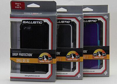 Ballistic Shell Gel (SG) Series Case for iPhone SE, iPhone 5, iPhone5S Sg Shell Gel