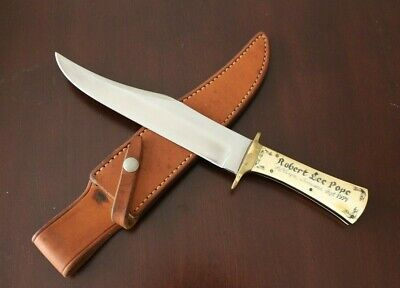 Vintage Hand Made by James B Lile Bowie Knife Custom Rare Early Jimmy Lile