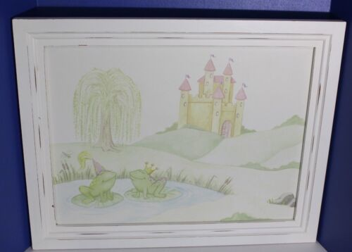 Wendy Bellissimo Frog Prince & Princess Wall Hanging Picture