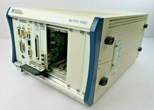 National Instruments NI PXI-1042 Mainframe Chassis with 8186, 6115, 8252 Modules