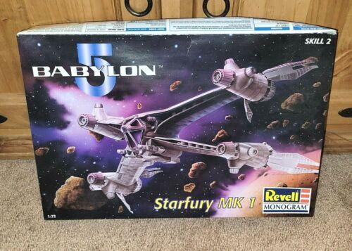 INTER-GALACTIC Revell Monogram Babylon 5 Star Fury MK-1 Model Kit NEW & Boxed!