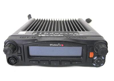 Ef Johnson 5300es 5300 Es Mobile Radio W Lightning Control Head P25 Wires