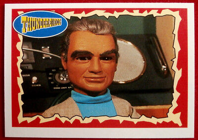 THUNDERBIRDS - The Founder - Card #24 - Topps, 1993 - Gerry Anderson