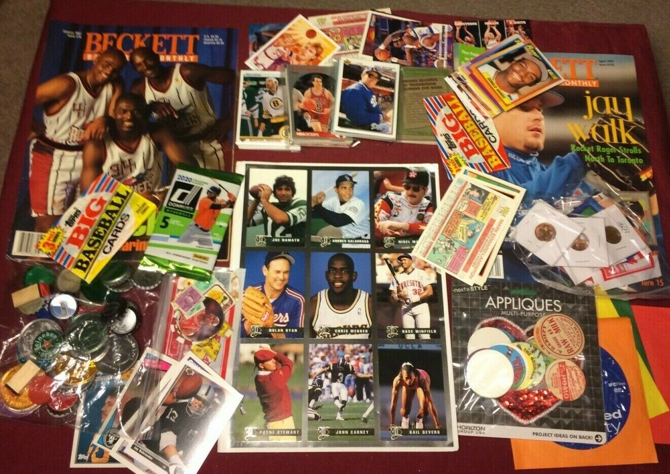 Huge junk drawer lot of collectibles, trading cards & misc items #09-01-1