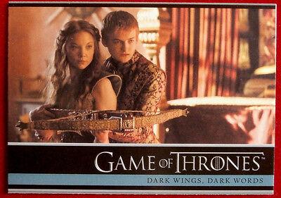 GAME OF THRONES - DARK WINGS: DARK WORDS - Season 3 Card #04 - Rittenhouse 2014