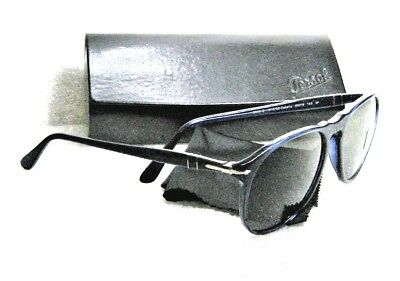 0f8c2f9dd0500 Persol Vintage 9649-S 1015 58 Rare Cobalto 55-18 Polarized New Sunglasses