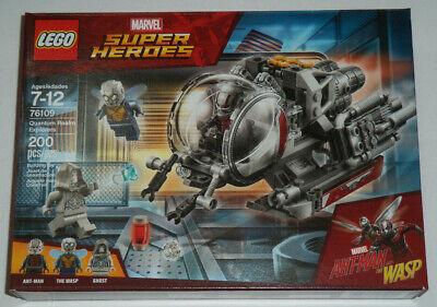 Lego 76109 Quantum Realm Explorers Ant-Man & Wasp Marvel Rare