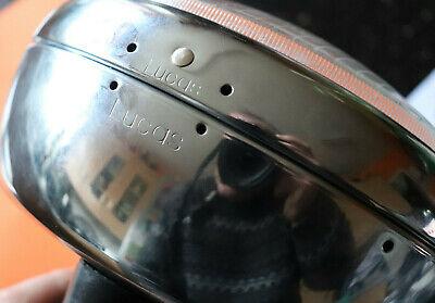 TRIUMPH T120 T150 LUCAS CHROME FLAT BACK HEADLIGHT BSA MCH69 99 1221 5