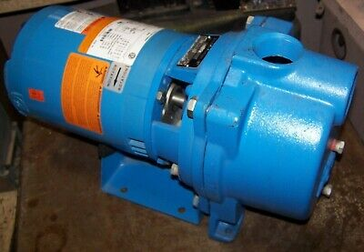 New Goulds 1-12 Self-priming Irrigation Centrifugal Pump 34 Hp Gt073