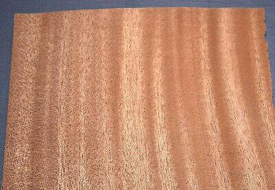 Mahogany Raw Wood Veneer Sheets 7 X 25 Inches 142nd   7636-3