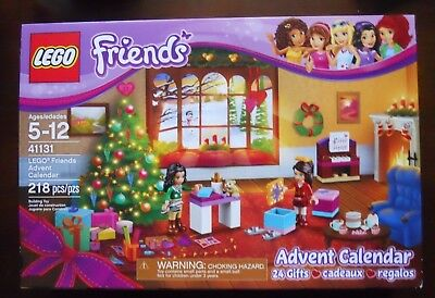 LEGO Friends #41131 Christmas ADVENT CALENDAR 218 Piece Building Kit