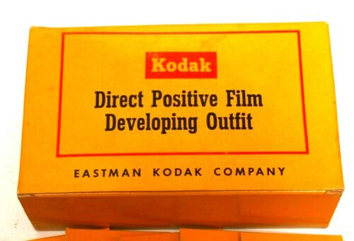 KODAK DIRECT POSITIVE FILM DEVELOPING OUTFIT -- VINTAGE AND COLLECTIBLE!