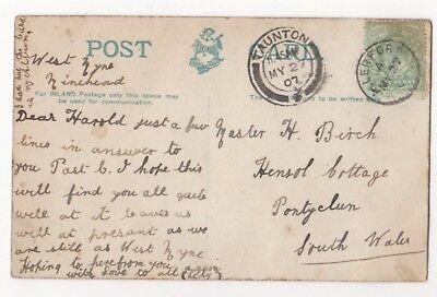Harold Birch Hensol Cottage Pontyclun South Wales 1907 823b