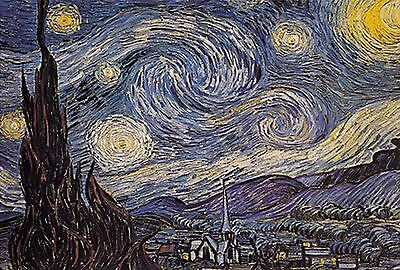 500 Pieces Jigsaw Puzzle - Starry Night by Vincent Van Gogh