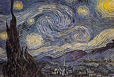 1000 Pieces Jigsaw Puzzle - Starry Night by Vincent Van Gogh