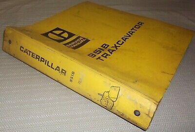 Cat Caterpillar 951b Traxcavator Track Loader Service Shop Repair Manual Sn 79h