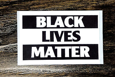 BLACK LIVES MATTER!! Sticker Packs (25-500) - Fast Despatch!
