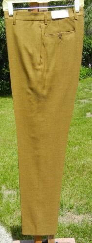 NWT MOD Vintage 1960s Pants 32x33 - Deadstock NEW Golden Trousers Narrow Legs