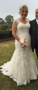 Maggie Sottero Ivory wedding dress size 12 Kellyville The Hills District Preview