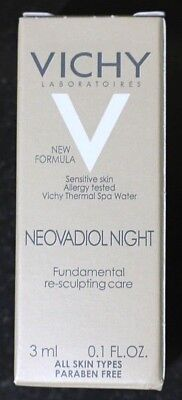 VICHY NEOVADIOL NIGHT FUNDAMENTAL RE-SCULPTING CARE NIGHT CREAM 3 ML/ 0.1OZ. (Vichy Neovadiol Night Fundamental Re Sculpting Care)
