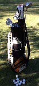 Golf Clubs RH men's Cleveland Snakeyes MD golf Uk + Zebra putter Bundoora Banyule Area Preview