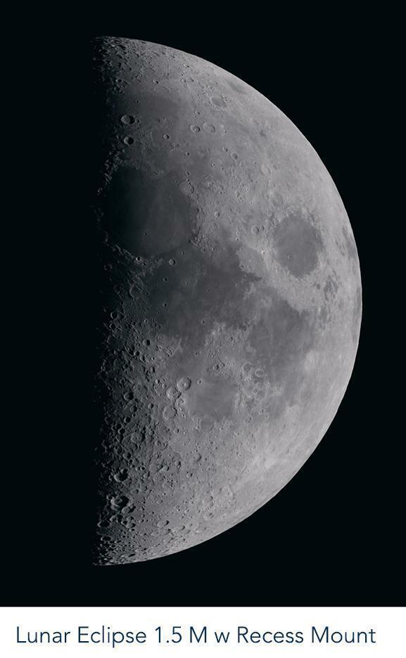 Peter Lik Lunar Eclipse 1.5M Limited Edition NIB Acrylic Mount - $2,800.00