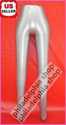 New Female Leg Pants Trousers Stocking Inflatable Mannequin Dummy Torso Model