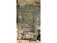 Large cage for parrots