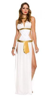 Goddess Costume Adult Sexy Egyptian Greek Halloween Fancy Dress](Egyptian Goddess Halloween)