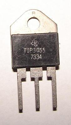 Tip3055 Transistor Rare Vintage 1973 Texas Instruments Nos