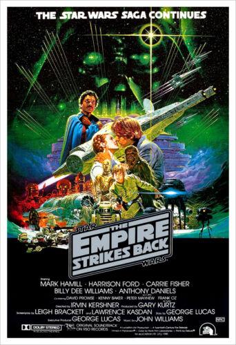 The Empire Strikes Back - Movie Poster Print